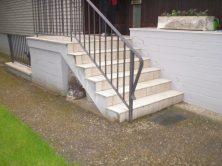 Eingangstreppe vorher