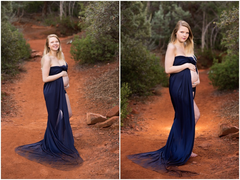 9e6546bb59580 She made pregnancy look good! Take a look at these dramatic and stunning  images from this Sedona Arizona maternity session.