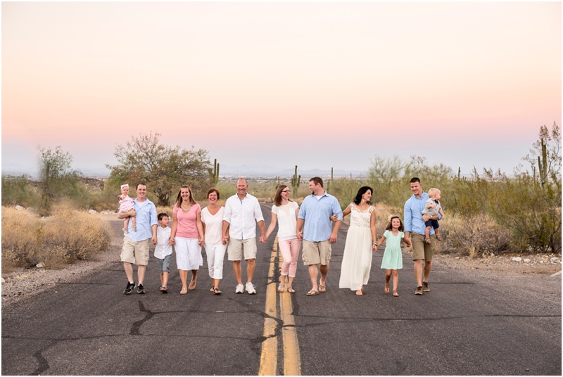 Sunset Family Photography Session by Alisha Dawn Photography