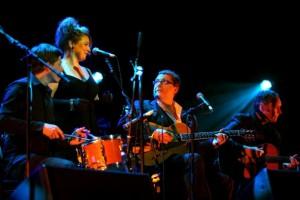 Alison Burns with Martin Taylor's Spirit of Django at Royal Albert Hall