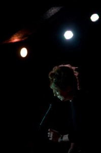 Alison Burns in the spotlight