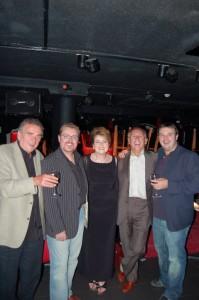 Alison Burns with Tony Christie