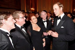 Alison Burns and Prince William