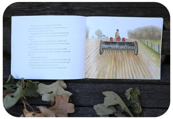 plowing pictures, sweet story book