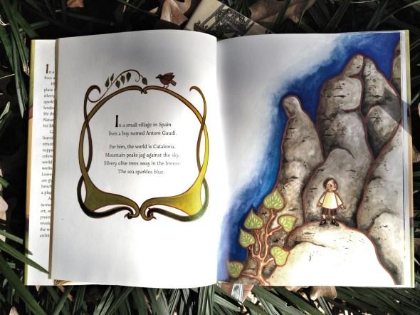 children's books, gaudi, illustrations, beautiful pictures