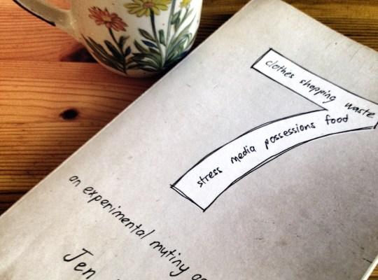 seven: an experimental mutiny against excess, reading, cute coffee mug, jen hatmaker book,