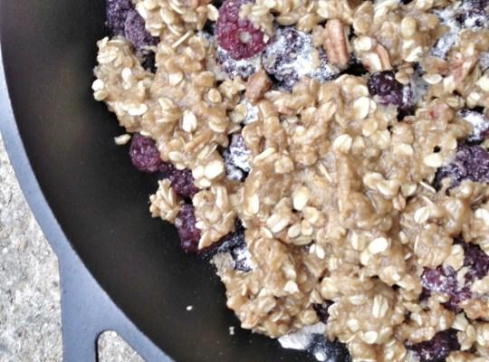 Blackberry Crumble, Blackberries, Berries for dessert, berries for breakfast