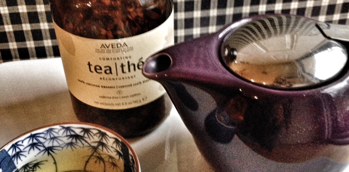 favorite tea, aveda tea, chino house favorites, simple pleasures