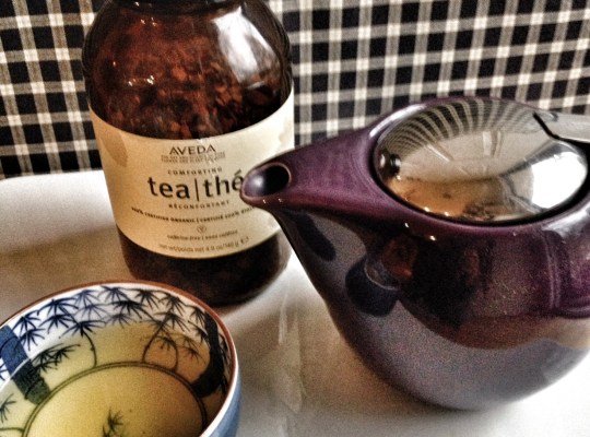 favorite tea, aveda tea, chino house favorites, simple pleasures