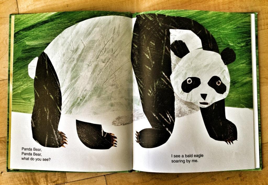 Panda Bear Panda Bear What Do You See?, picture books, children's books