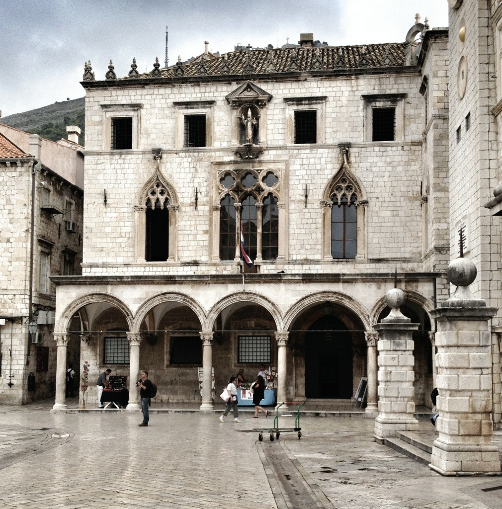 Sponza, Palace, Mediterranean Cruise Ports, Dubrovnik, Croatia, Old City, European Travel, Mediterranean Cruise