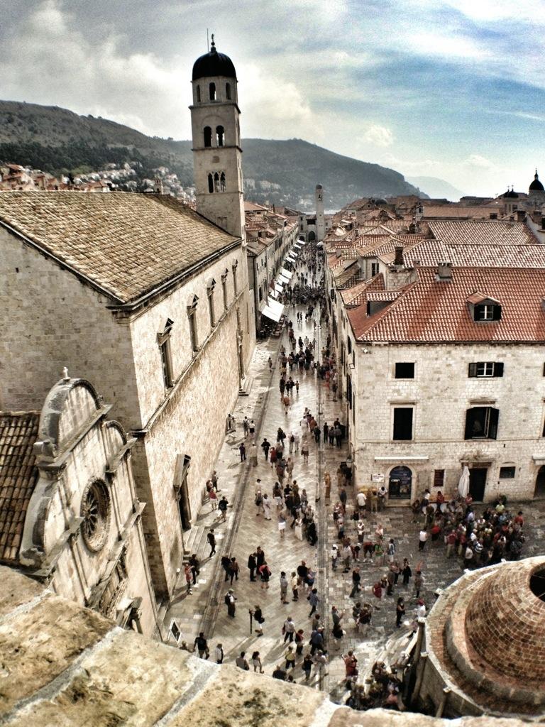 Mediterranean Cruise, Old City , Dubrovnik, Croatia, Mediterranean Ports, European Cruise, main stradum