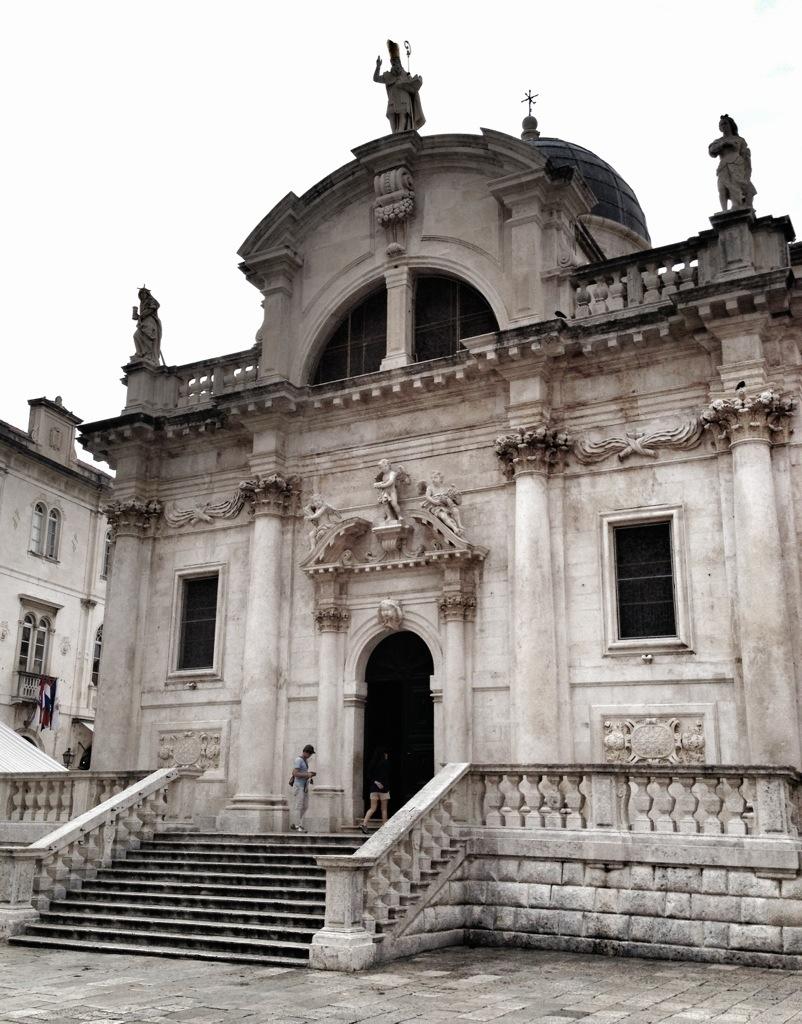 St Blaise Church, Dubrovnik, Croatia, Mediterranean Ports, European Cruise