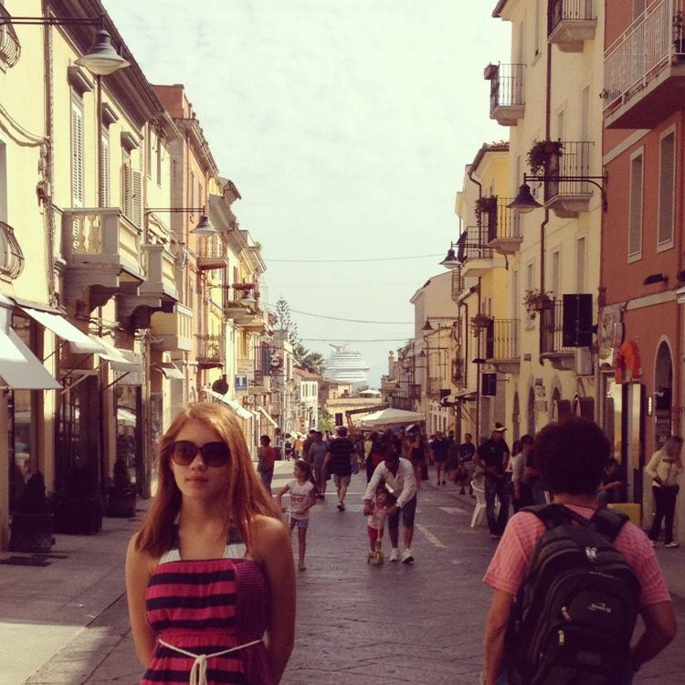 Port of Olibia, Sardinia, Italy, Cruise, Mediterranean Cruise, Travel, Europe, Cruisazy