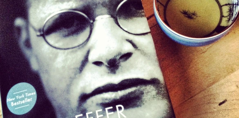 bonhoeffer biography, bonhoeffer, eric metaxas, books, book and tea, lovely combo