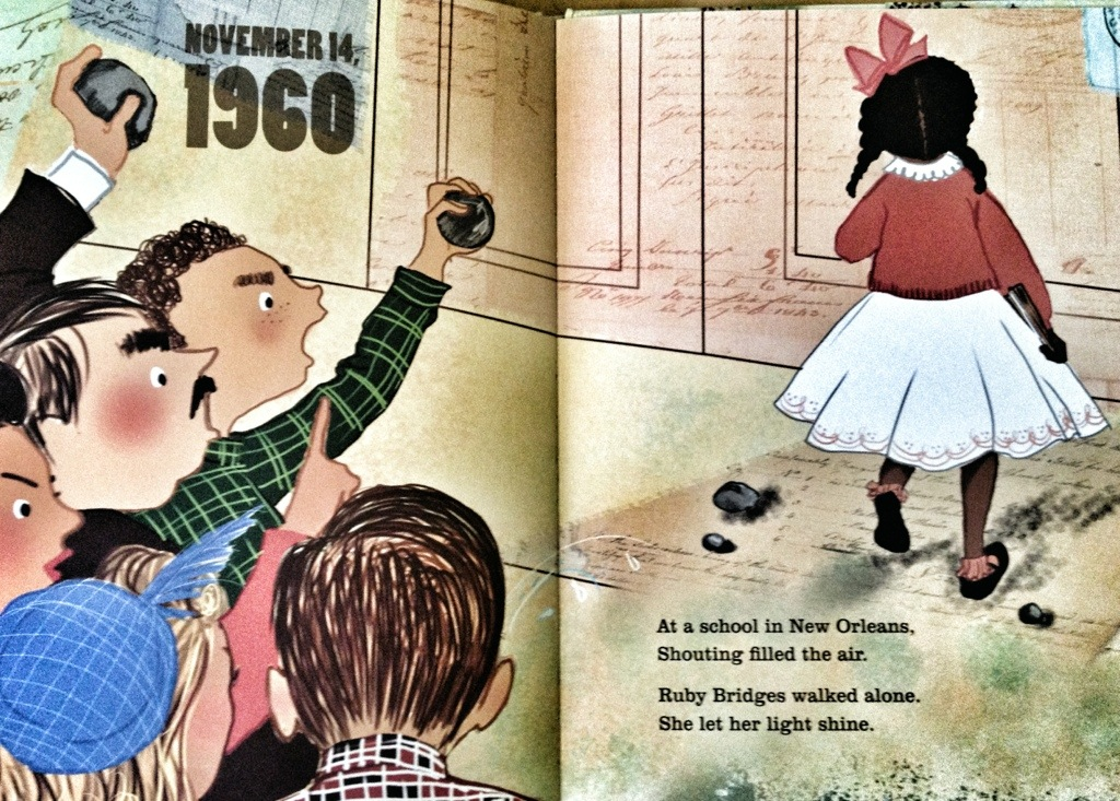 let freedom sing, vanessa newton, civil rights children's books, black history month, ruby bridges