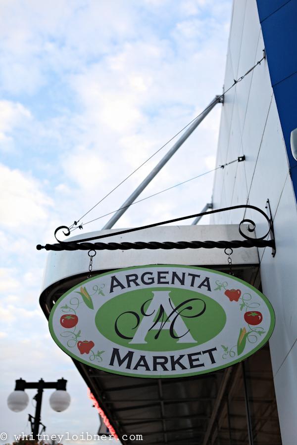 argenta market, family photos, family photo shoot in a grocery store, family photos in argenta market, shop local, eat local