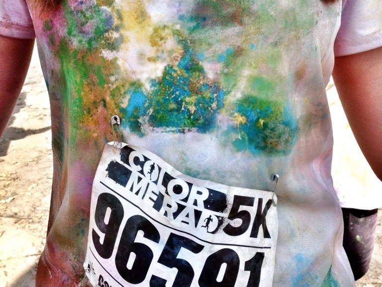 Color Me Rad, Color Run, 5K, Walking Not Running, FUN