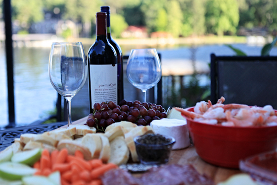 the best wine and cheese platter, wine + cheese, pool party