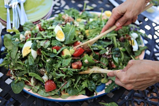 Cobb Salad, Summer Dishes, Colorful Salads, Edamame, Bacon