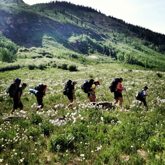 Aspen To Crested Butte Day 2, Backpacking, Colorado, Summer, Hiking with kids