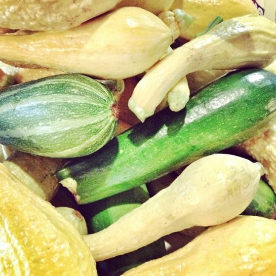 summer squash, zucchini, summer squash bake