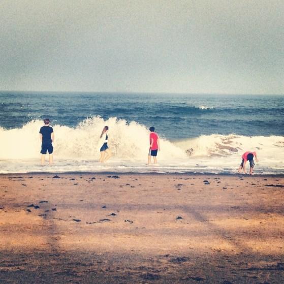 The North Sea, Aberdeen, Scotland, Week 2