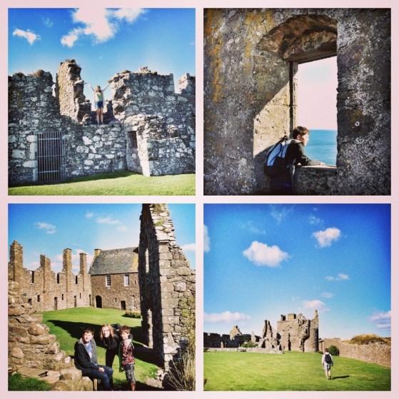 Dunnottar Castle, Stonehaven, Scotland, United Kingdom, Exploring