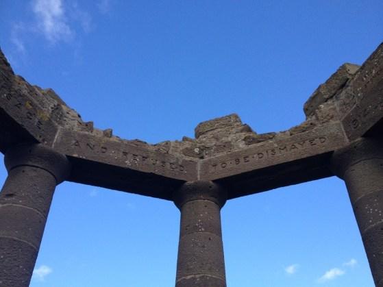 Stonehaven War Memorial, Dunnottar Castle, Stonehaven, United Kingdom