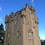 Crathes Castle in Banchory, Scotland