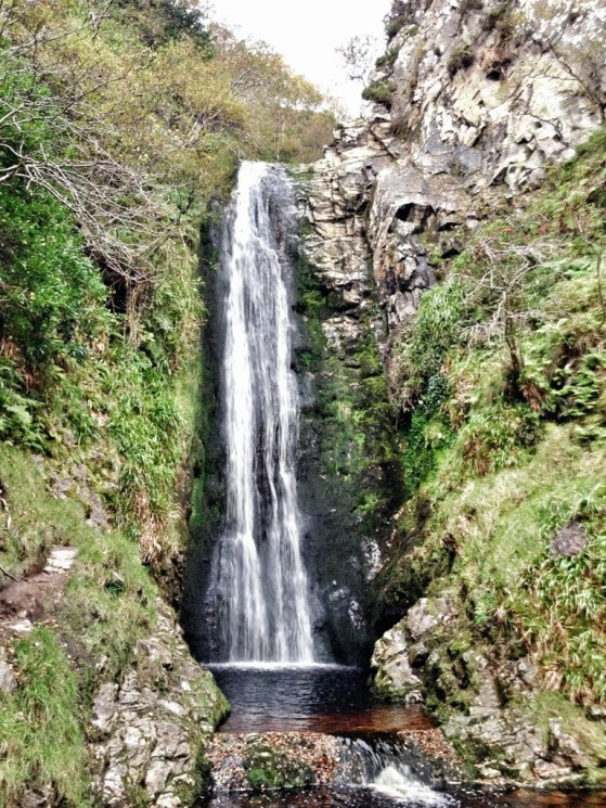 Glenevin Waterfall, Adventures In Ireland, Wild Atlantic Way Northwest, AlisonChino.com, Inishowen