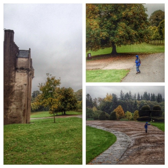 Rainy Days Out at Crathes Castle with Go Ape
