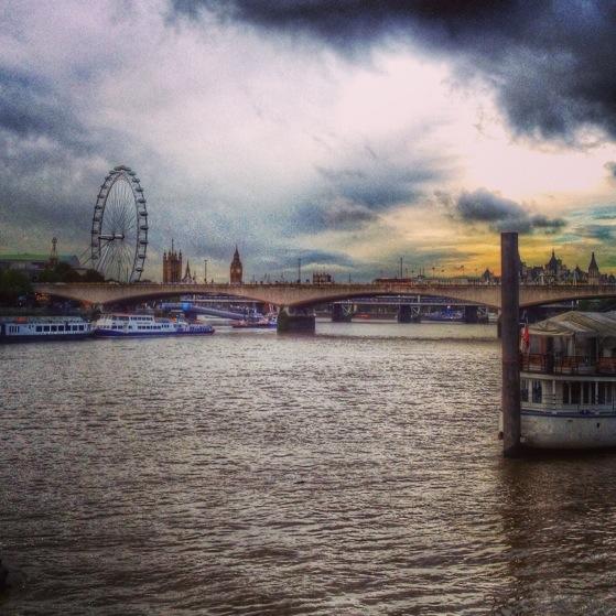 Snapshots of London, Travel, London Eye