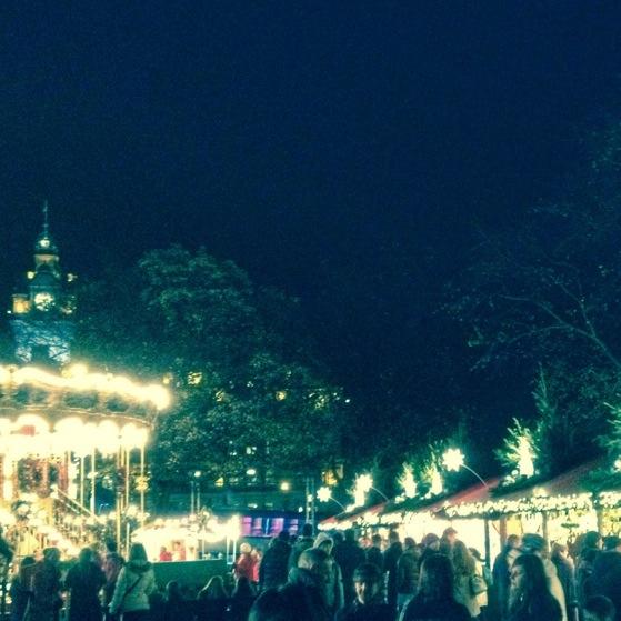 Christmas Market, Princes Street, Snapshots of Edinburgh, Scotland
