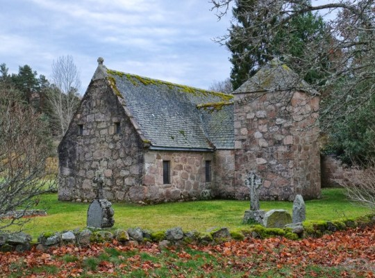 Chapel of St. Lesmo, Glen Tanar, Scotland