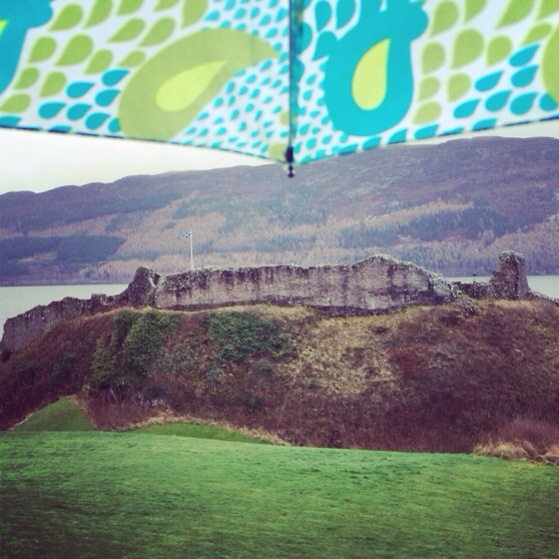 Urquhart Castle, Inverness, Snapshots of Scotland in Winter