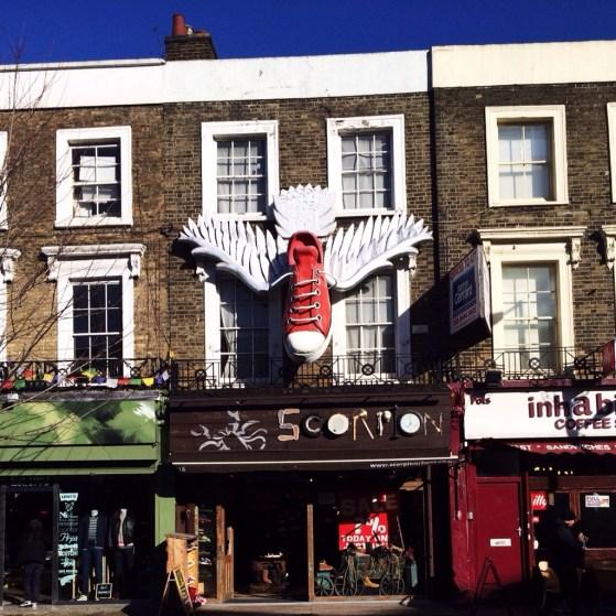 Snapshots of London, Camden Town, Camden Market