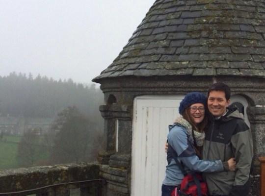 In The Pipeline, Taido and Alison Chino, Scotland