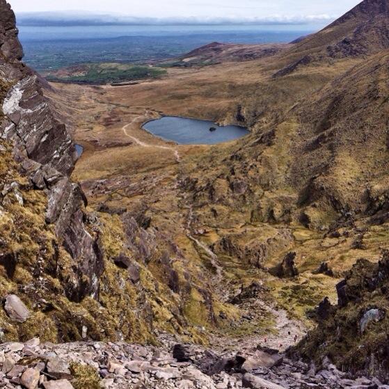 Snapshots of Ireland, County Kerry, Carrantohill Peak