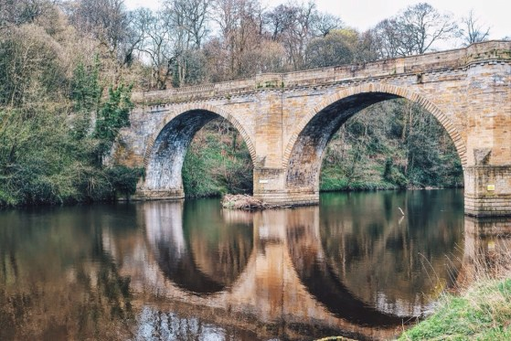 Snapshots of Durham, England, River Wear, Bridge
