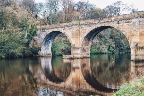 Snapshots of Durham, England, River Wear, Bridge