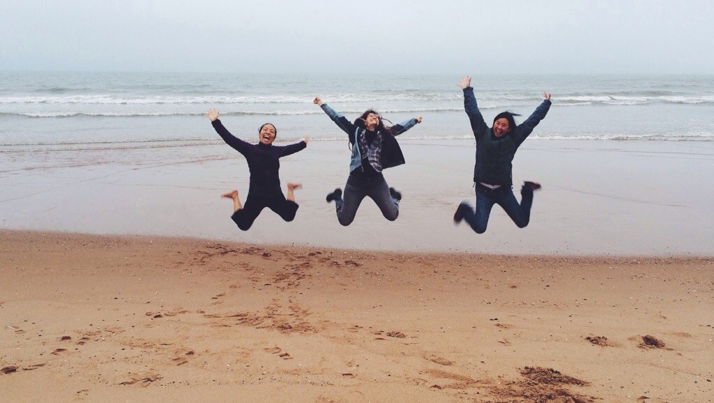 Showing off the Shire, Happy, North Sea, Balmedie, Scotland