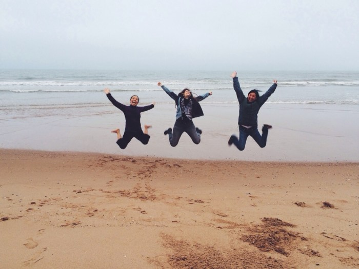 Showing off the Shire, Happy, North Sea, Balmedie, Scotland