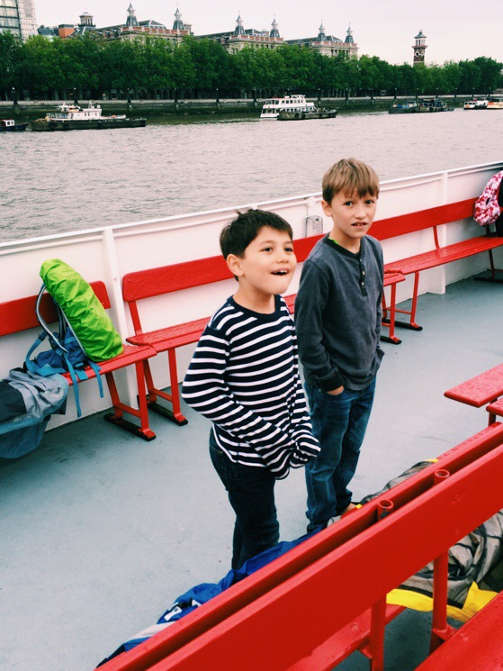 Thames River Cruise, City Cruises, London, England