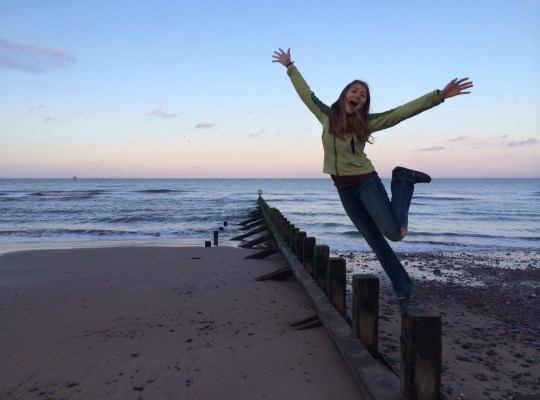 Aberdeen Beach, Jump, Scotland, In The Pipeline