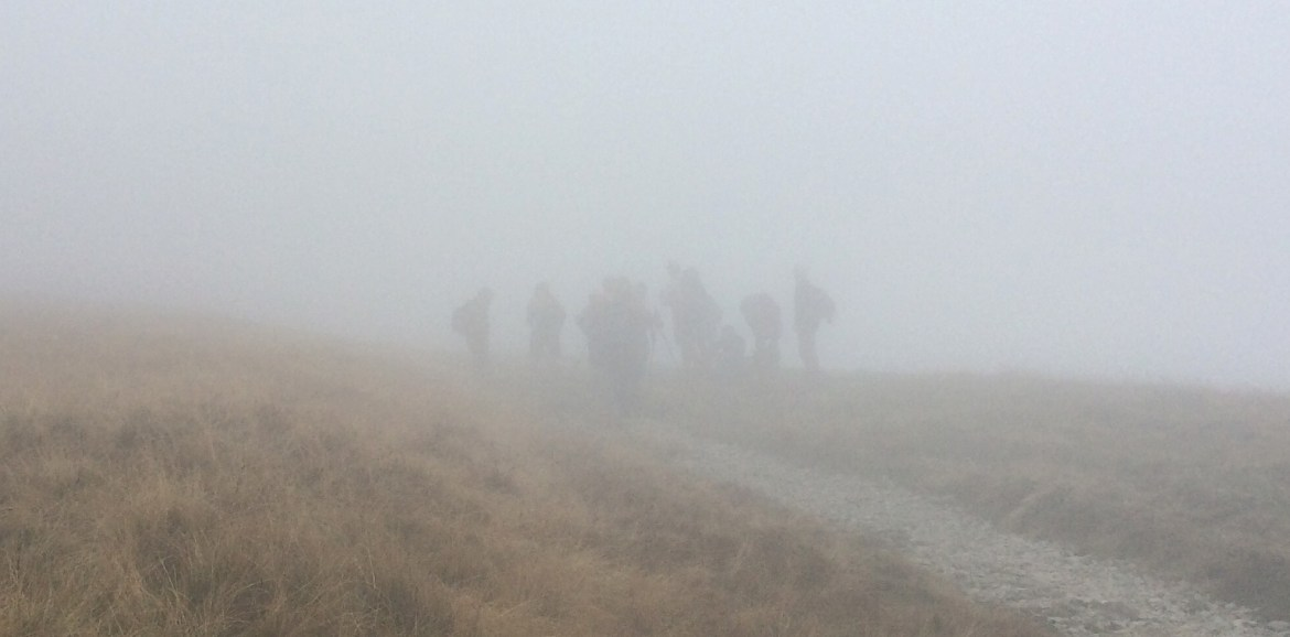 The Group of 13 in the Midst, Fellow Pilgrims, Coast to Coast, #48walks