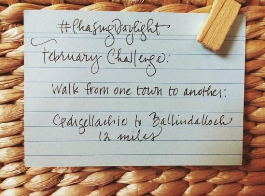 Chasing Daylight, February Challenge, Chino House