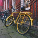 Snapshots of Bikes in Amsterdam