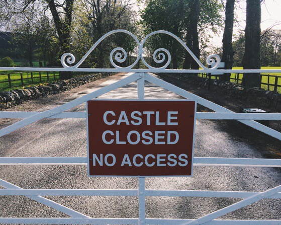 Castle Closed, Scotland, Security, Chino House