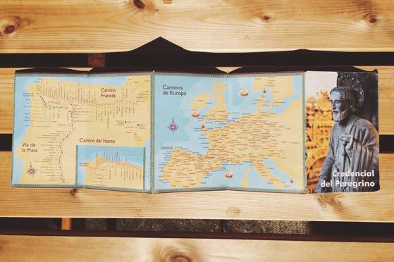 Pilgrims Passport, Camino de Santiago, The Way, Santiago de Compostela, Pilgrims Mass